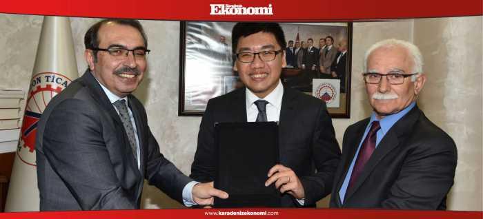 Trabzon ve Singapur ticareti geliştiriyor
