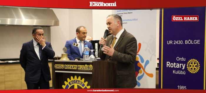 Rotary'denKaradeniz Ekonomi'ye ödül
