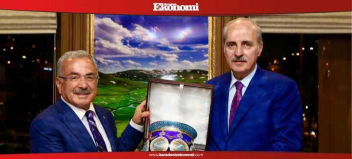 AK Parti Genel Başkan Vekili Prof. Dr. Numan Kurtulmuş'tan Hilmi Güler'e ziyaret