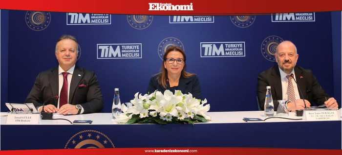 Hedefimiz, dış ticaret fazlası veren Türkiye