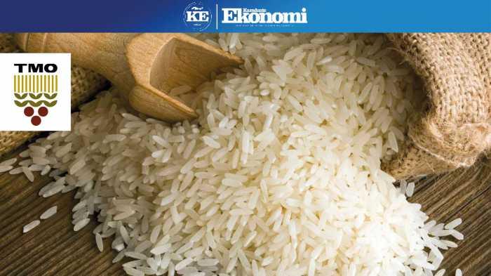 TMO; ''Yeterli miktarda pirincimiz mevcut''