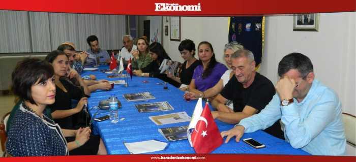 Karadeniz Ekonomi Rotaryanlarla bir araya geldi