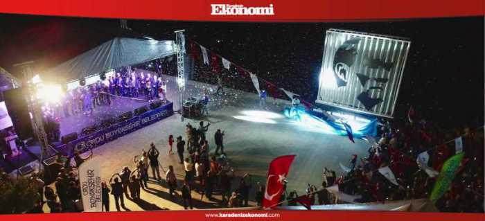 Atatürk silueti tekrar Ordu'da